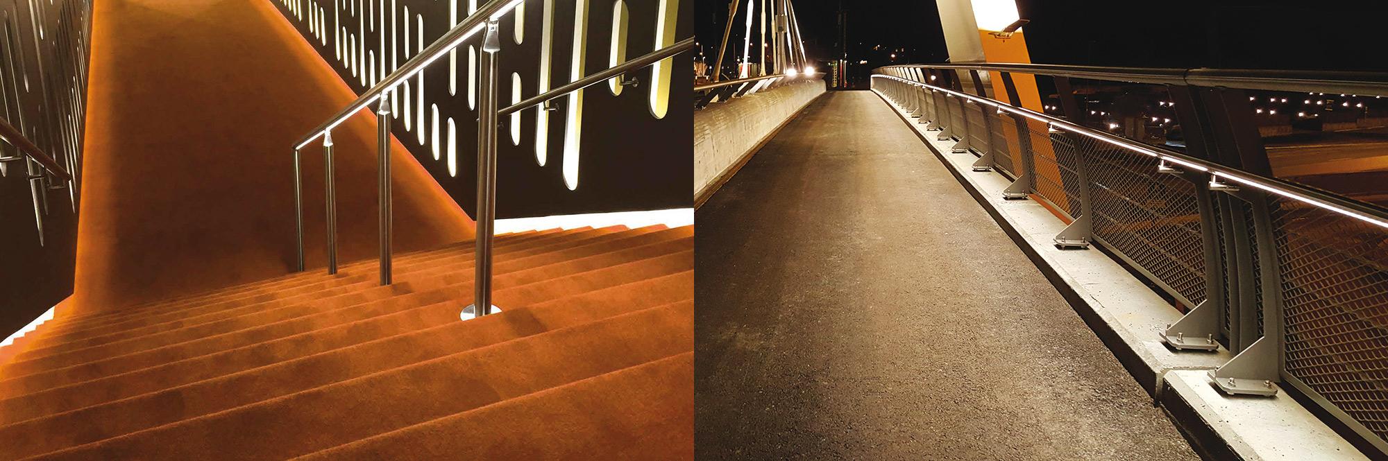 liniLED Handrail valaiseva käsijohde